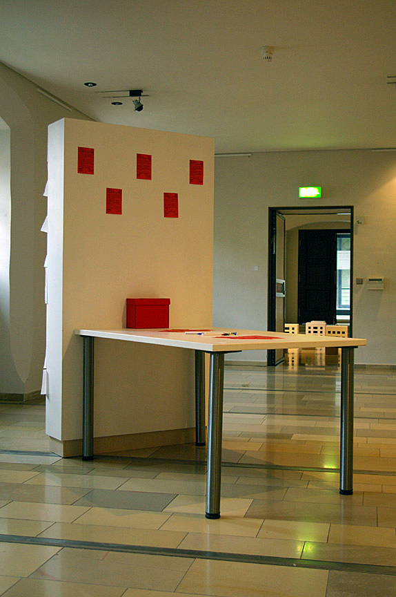 FSS installation in the Gallerie marke.6 in Weimar