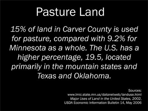 Pasture Land Sign sm