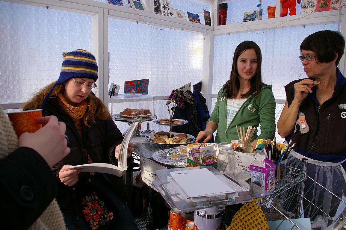 Cafe interior, 2007