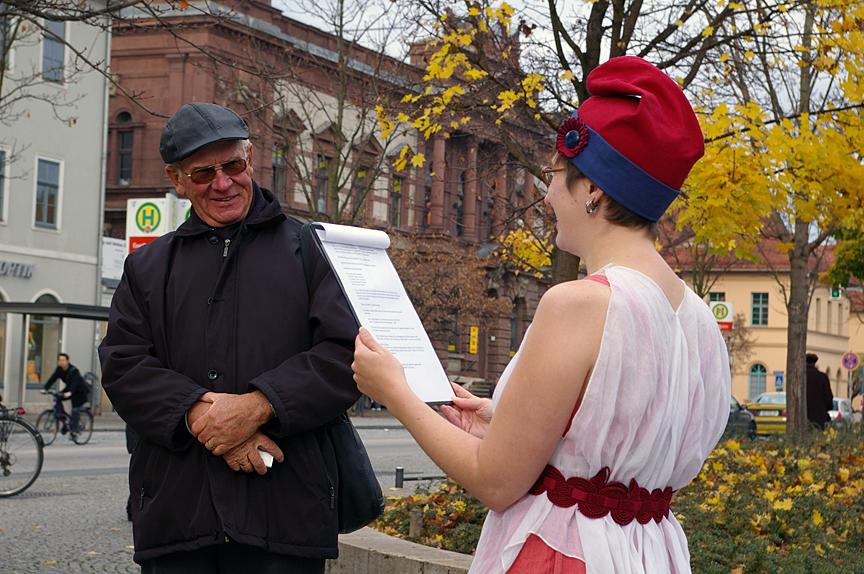 Free Speech Surrogate performance in Weimar in 2008